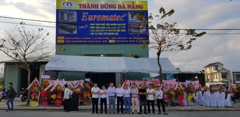 Kho máy nhôm Thành Dũng tại Đà Nẵng