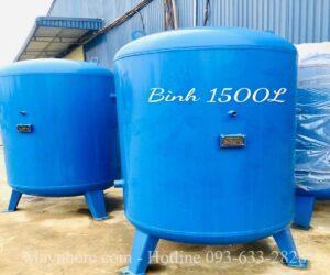 Bình chứa khí nén 1500 lít