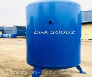 Bình chứa khí nén 2000 lít